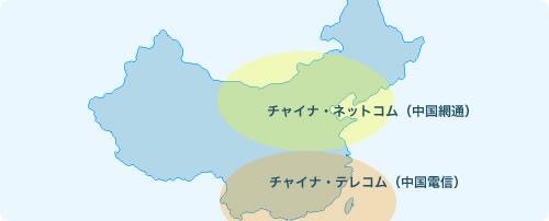 中国インターネット特有の南北問題事情