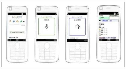 Google中国モバイル音声検索