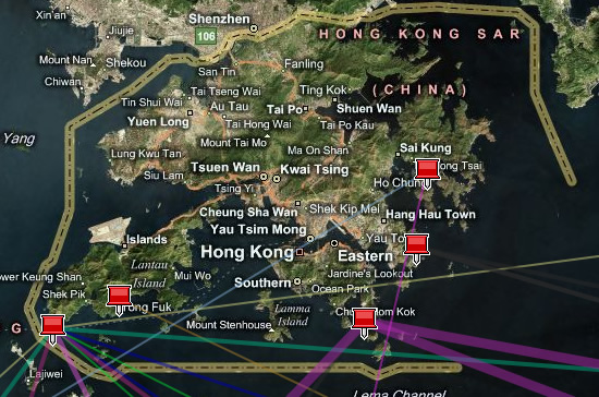 中国の国際帯域とインフラ