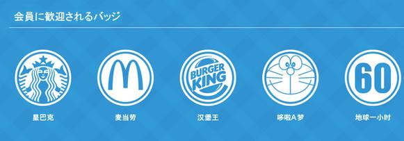 中国LBSで流行るブランド