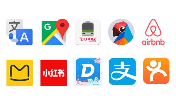 訪日中国人ダウンロード必須のアプリ10選(2019年)